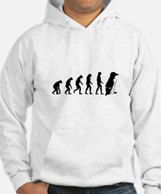 Humans evolve into penguins Hoodie