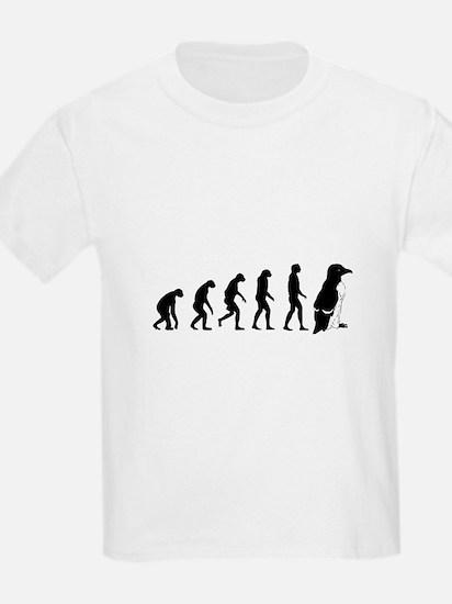 Humans evolve into penguins T-Shirt