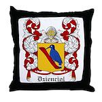 Dzienciol Coat of Arms Throw Pillow
