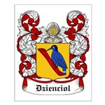 Dzienciol Coat of Arms Small Poster