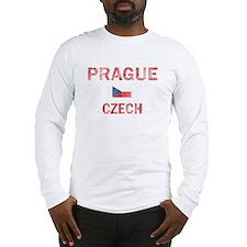 Prague Czech Designs Long Sleeve T-Shirt