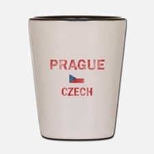 Prague Czech Designs Shot Glass