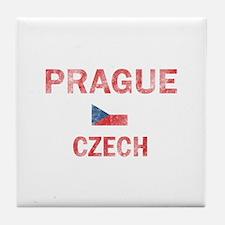 Prague Czech Designs Tile Coaster
