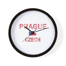 Prague Czech Designs Wall Clock