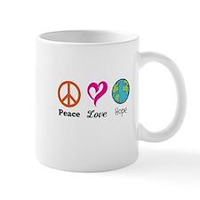 Peace Love and Hope Mug