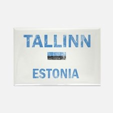 Tallinn Estonia Designs Rectangle Magnet
