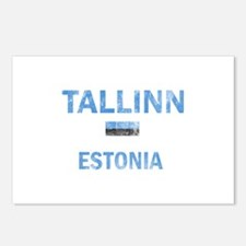 Tallinn Estonia Designs Postcards (Package of 8)