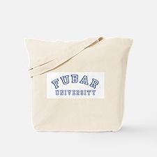 FUBAR University Tote Bag