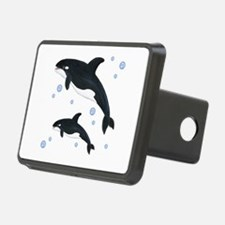 Killer Orca Whales Hitch Cover