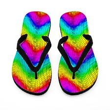 Chroma Disco Ball Flip Flops