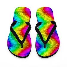 Chroma Disco Flip Flops