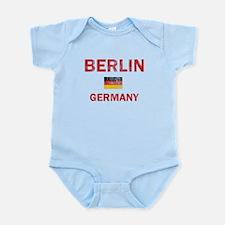 Berlin Germany Designs Infant Bodysuit