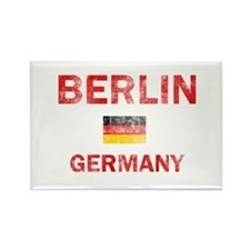Berlin Germany Designs Rectangle Magnet