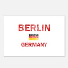 Berlin Germany Designs Postcards (Package of 8)