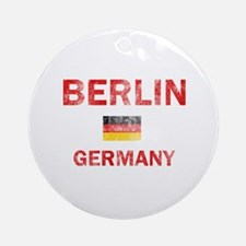 Berlin Germany Designs Ornament (Round)