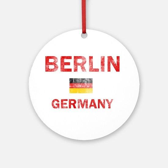 Berlin Germany Designs Ornament (Round)