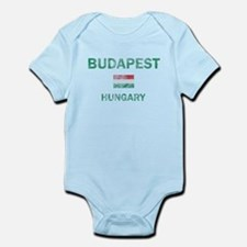 Budapest Hungary Designs Infant Bodysuit