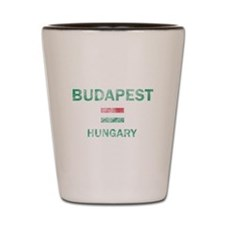 Budapest Hungary Designs Shot Glass