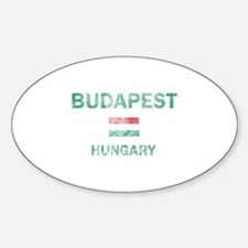 Budapest Hungary Designs Decal