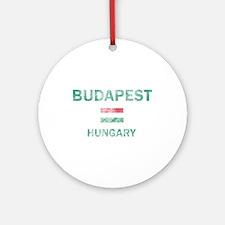 Budapest Hungary Designs Ornament (Round)