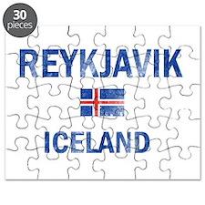 Reykjavik Iceland Designs Puzzle