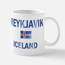 Reykjavik Iceland Designs Mug