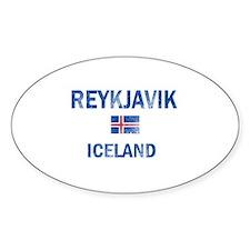 Reykjavik Iceland Designs Decal