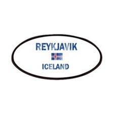 Reykjavik Iceland Designs Patches