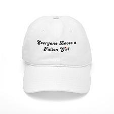 Fulton girl Baseball Cap