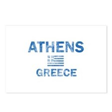 Athens Greece Designs Postcards (Package of 8)