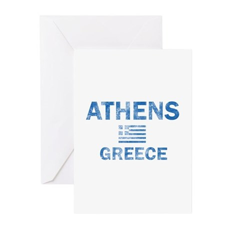 Athens Greece Designs Greeting Cards (Pk of 10)