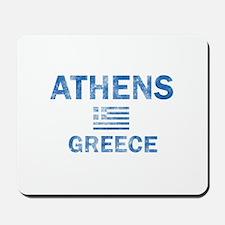 Athens Greece Designs Mousepad