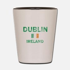 Dublin Ireland Designs Shot Glass