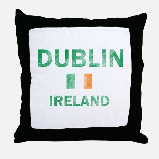 Dublin Ireland Designs Throw Pillow