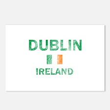 Dublin Ireland Designs Postcards (Package of 8)