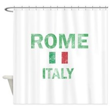 Rome Italy Designs Shower Curtain