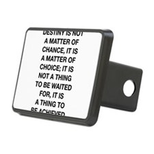 Destiny Is Not A Matter Of Chance Hitch Cover