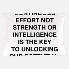 Continuous Effort Pillow Case