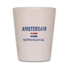 Amsterdam Netherlands Designs Shot Glass