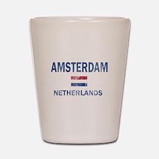 Amsterdam Netherlands Designs Shot Glass