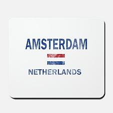 Amsterdam Netherlands Designs Mousepad