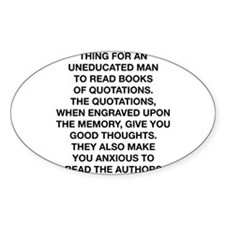 Books Of Quotations Decal