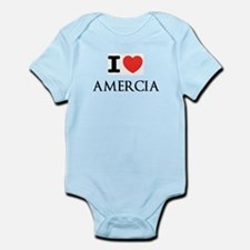 Cute Amercia Infant Bodysuit