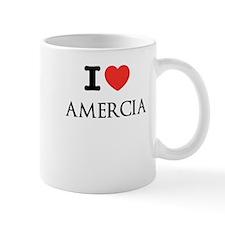 Cute I heart mitt romney Mug