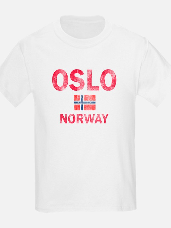 Oslo Norway Designs T-Shirt