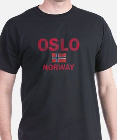 Oslo Norway Designs T-Shirt
