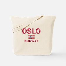 Oslo Norway Designs Tote Bag