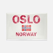 Oslo Norway Designs Rectangle Magnet