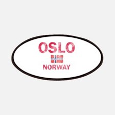 Oslo Norway Designs Patches