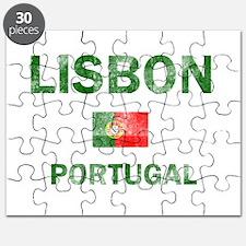 Lisbon Portugal Designs Puzzle
